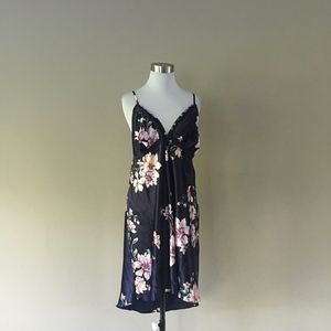Large Chemise Floral No Label Polyester ..